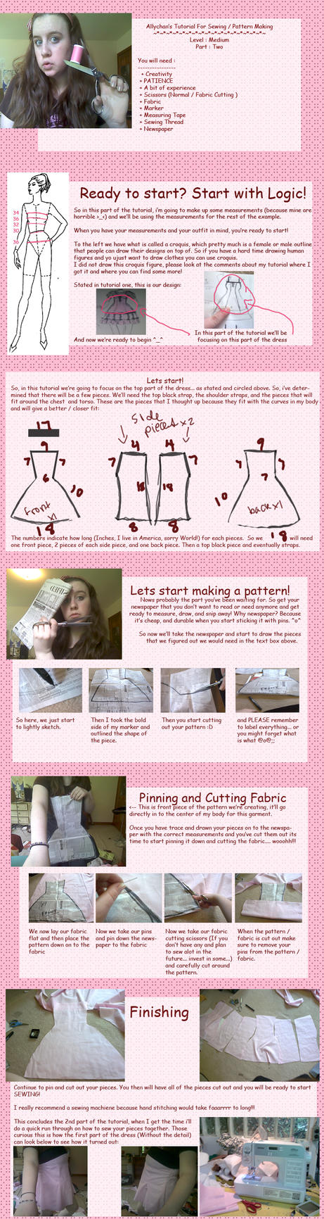 Allys sewing tutorial part two by allychan