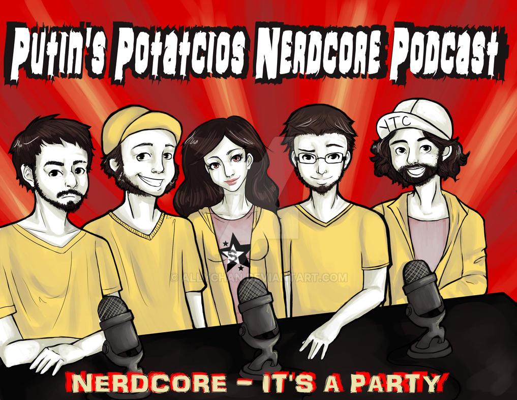 Putin's Potatcios Nerdcore Podcast by allychan