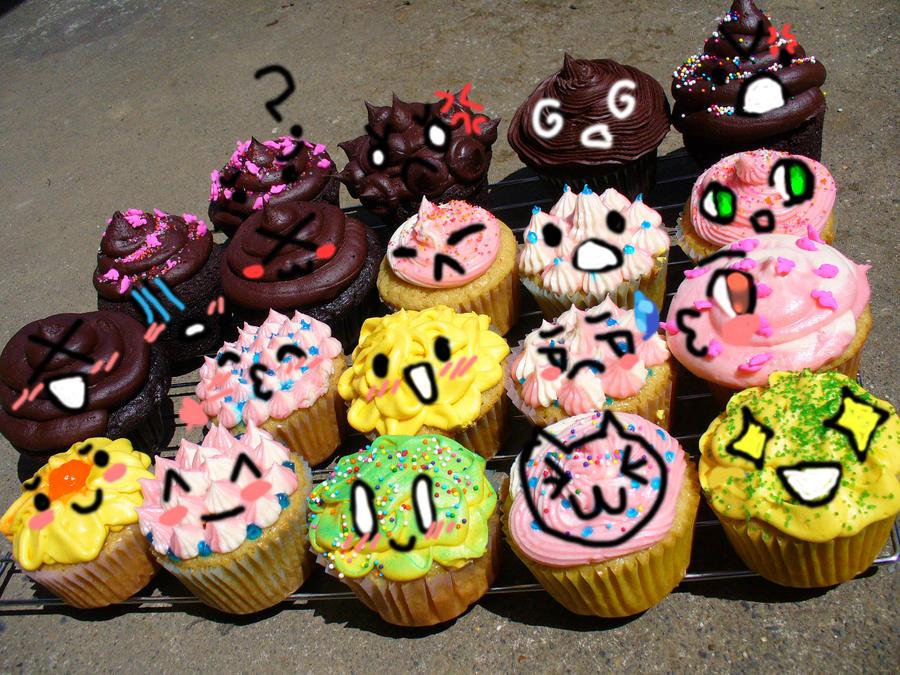 If Cupcakes Had Emotions...... by heyitsjulie
