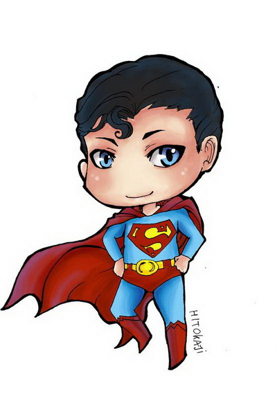 cute superman flying drawing - photo #19