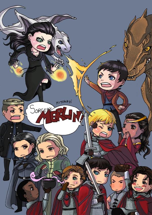 Thank you Merlin by hitokaji