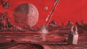 Random Red Planet by anakinikkee