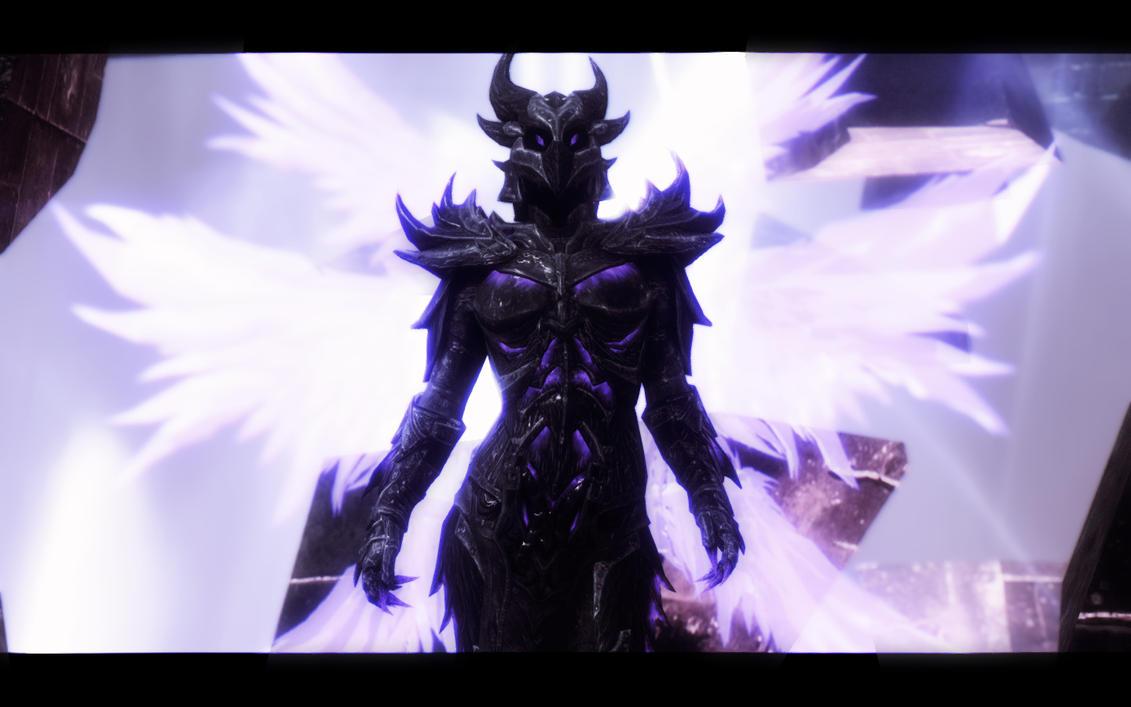Skyrim Extended Glow: Daedric Armor II by Treeps
