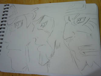 The First Three Hokages From Naruto by reaper123546