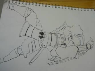 Peanut Samurai by reaper123546