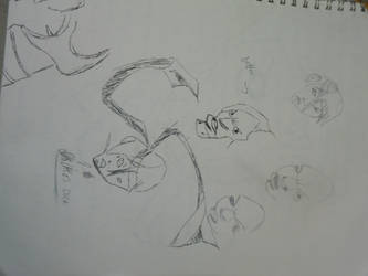 Faces For The Peanut Samurai by reaper123546
