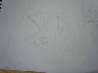 Alex Pardee Digested Children Shark by reaper123546