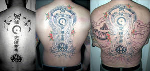 Tattoo Backpiece Progression