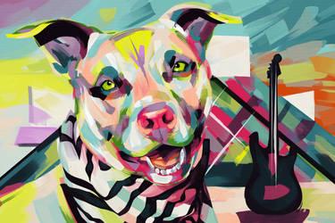 Rockstar Pup - CCAS by Travis-Clarke