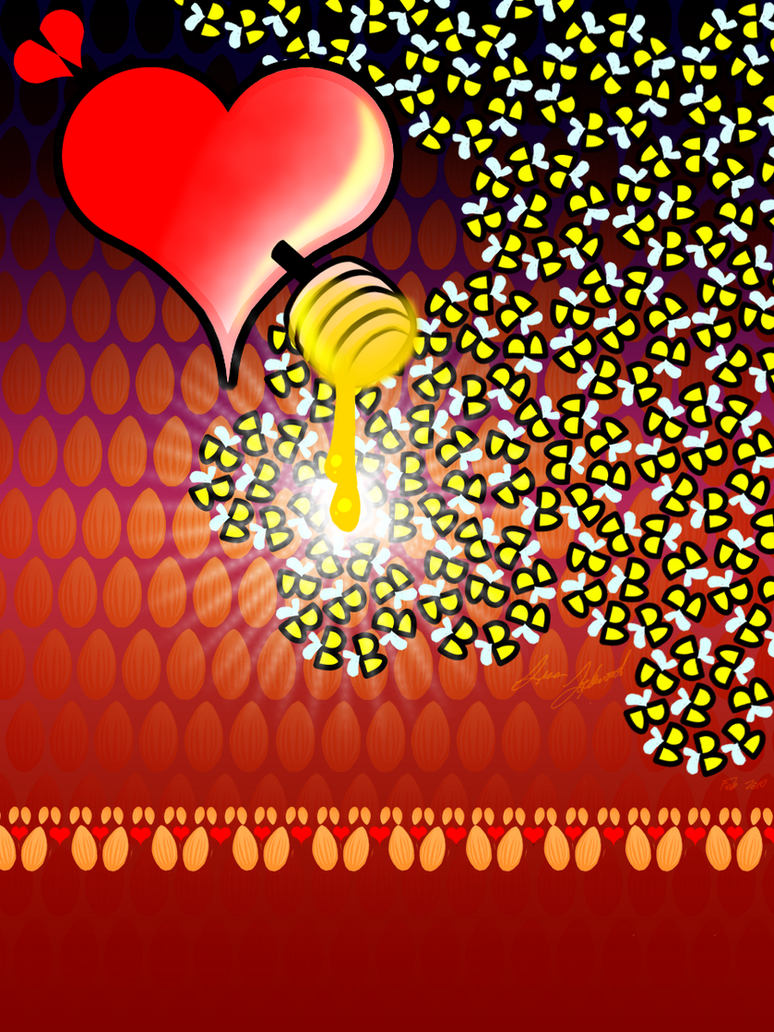 The Love struck Honeybees by Metatonix