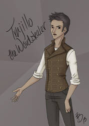 Trujillo the Wordstealer by Annerb