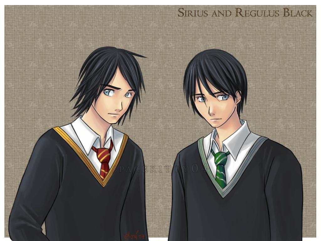 Sirius and Regulus Black by Spacekitty04