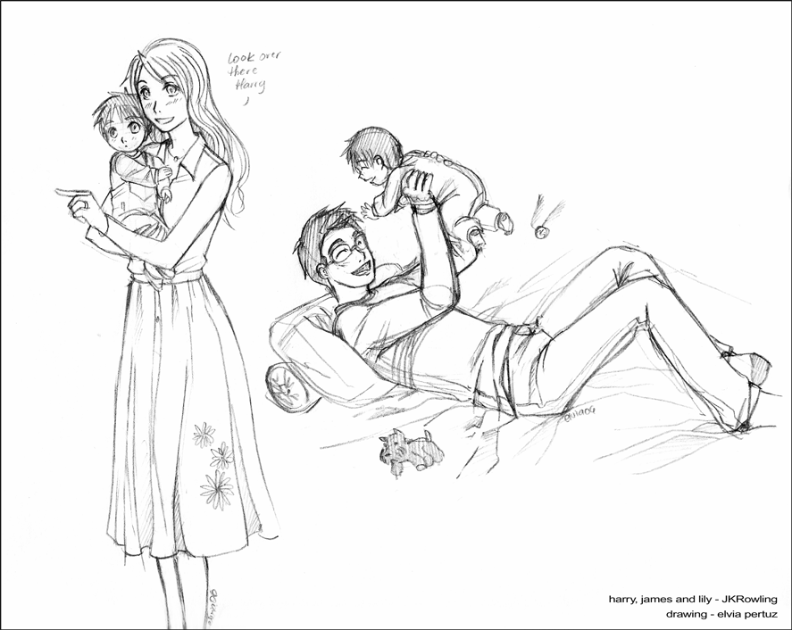 Drawing Lines James Rachels Summary : Baby harry james and lily by spacekitty on deviantart