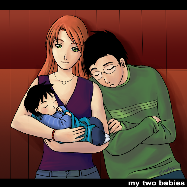 My two babies - HPotter by Spacekitty04