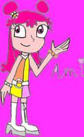 Hi Hi Puffy AmiYumi - Ami by CrystalRobot