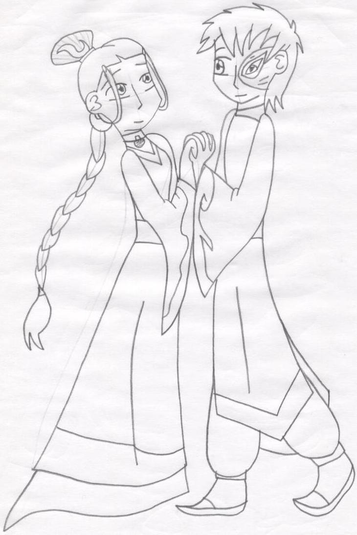 Zutara Wedding by CrystalRobotZutara Wedding