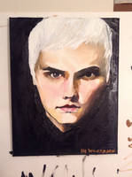 Gerard Way Oil by mydistractionxx