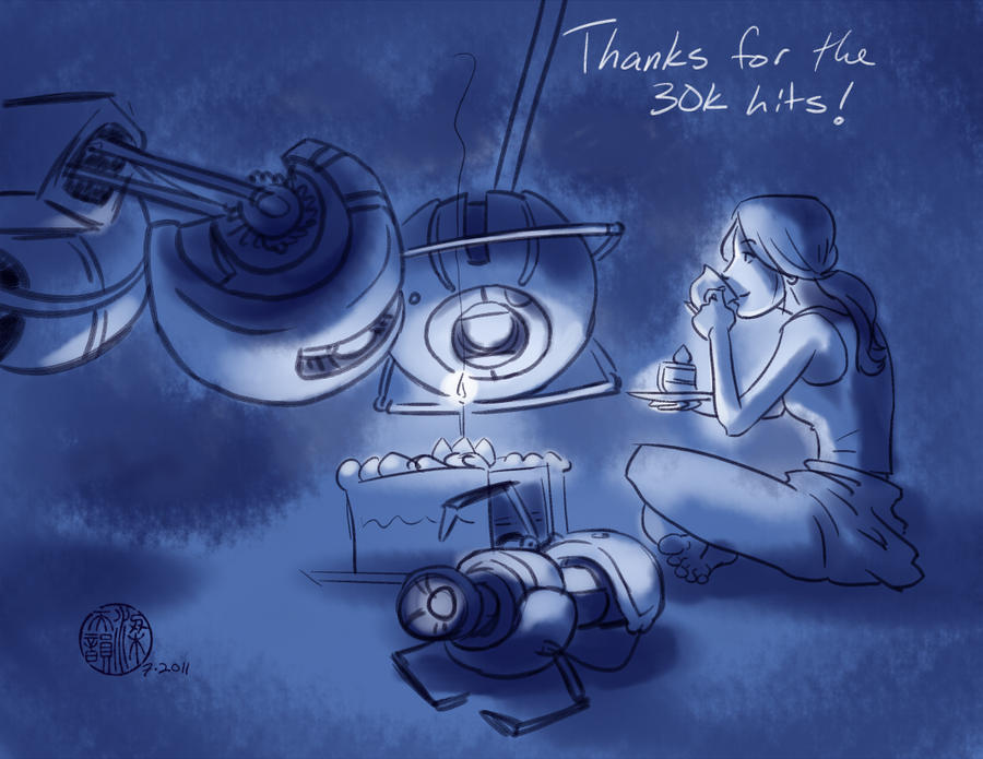 Thanks for the 30k hits by SylviaDraws