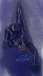Catwoman sketch