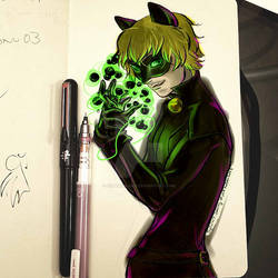 Chat Noir sketch