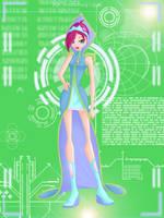 Tecna First Ballgown by Lumissencia