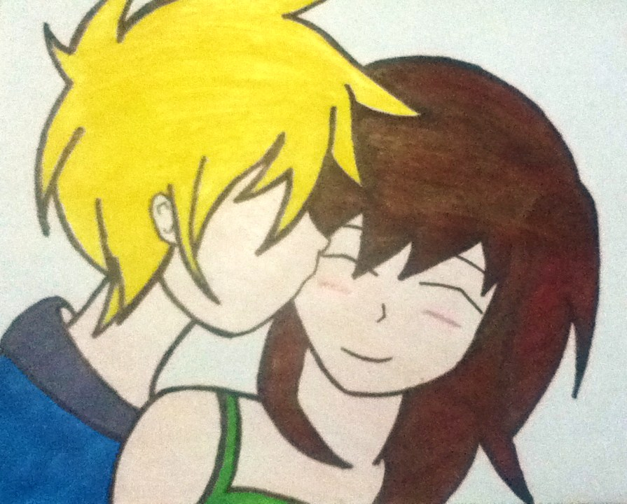 Cute Easy Anime Drawings Of Couples Images amp Pictures Becuo