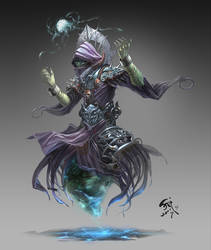 the lich by phoeni-x-man