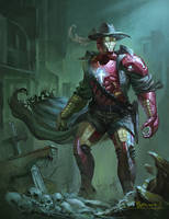 Iron Priest. by phoeni-x-man