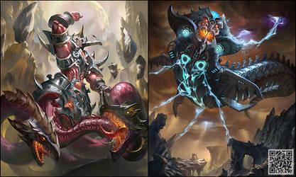 Guardian+Iron Monster by phoeni-x-man