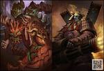 Prime Evil+Skull Warrior
