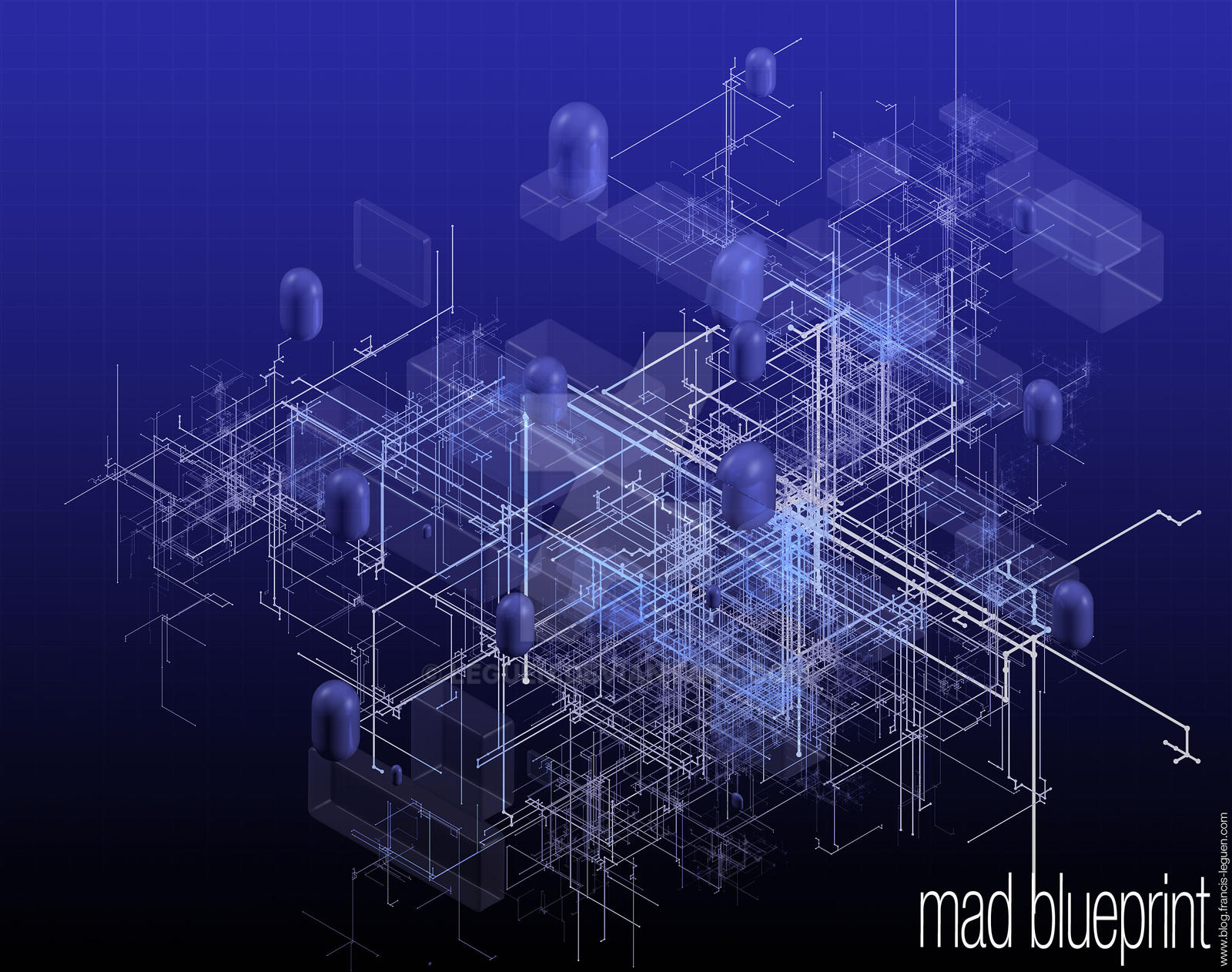 Mad Blueprint by leguen
