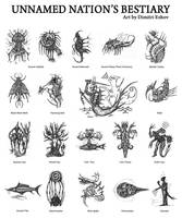 Unnamed Nation's bestiary by retransmission