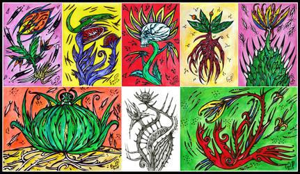 Plants series by retransmission