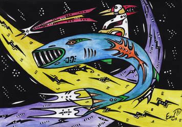 The birth of Gemini by retransmission