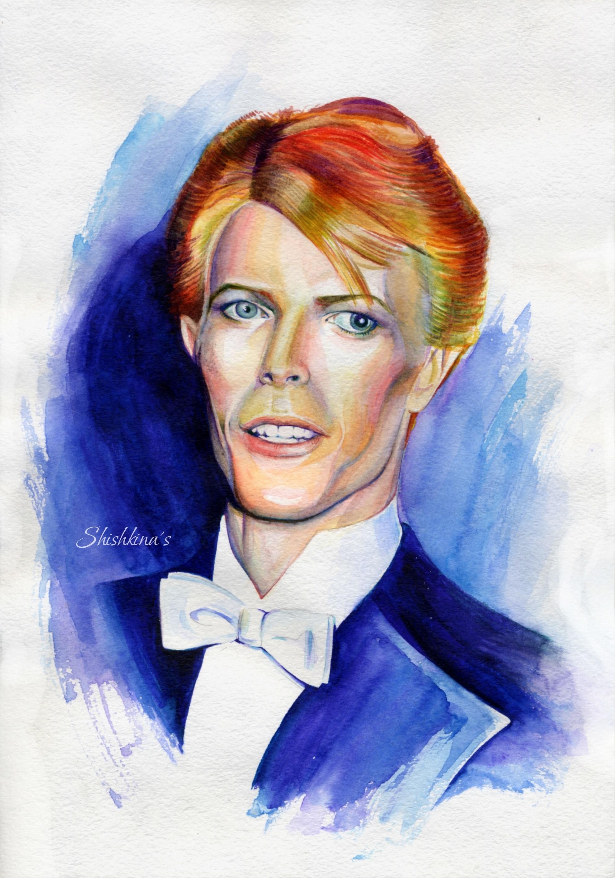 David Bowie by Shishkina