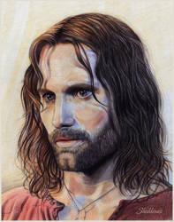 Aragorn, son of Arathorn by Shishkina
