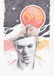 Bowie by Shishkina
