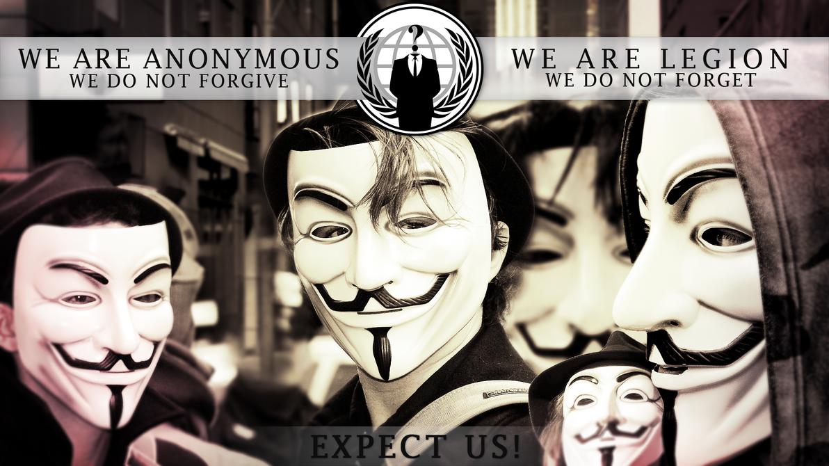 Anonymous Wallpaper by ildari0n