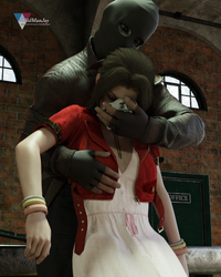 Aerith captured