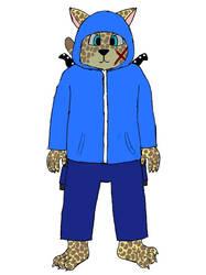 Gabriel Mossberg (Hooded) by Fazbear300