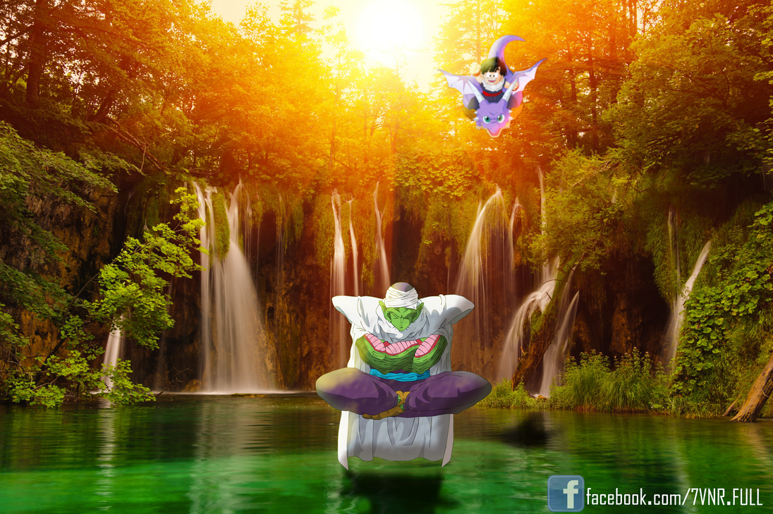 Piccolo With Gohan By Pi Eyz