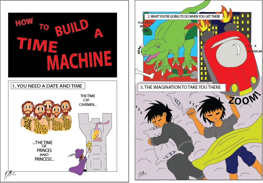 How To Build A Time Machine By Fishyantics On Deviantart