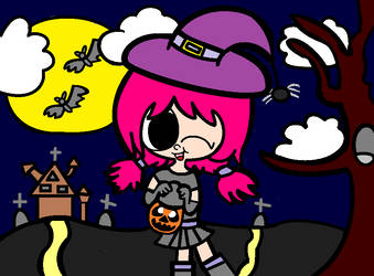 Happy Halloween! - Halloween Special with Sachiko! by CandyHeart567