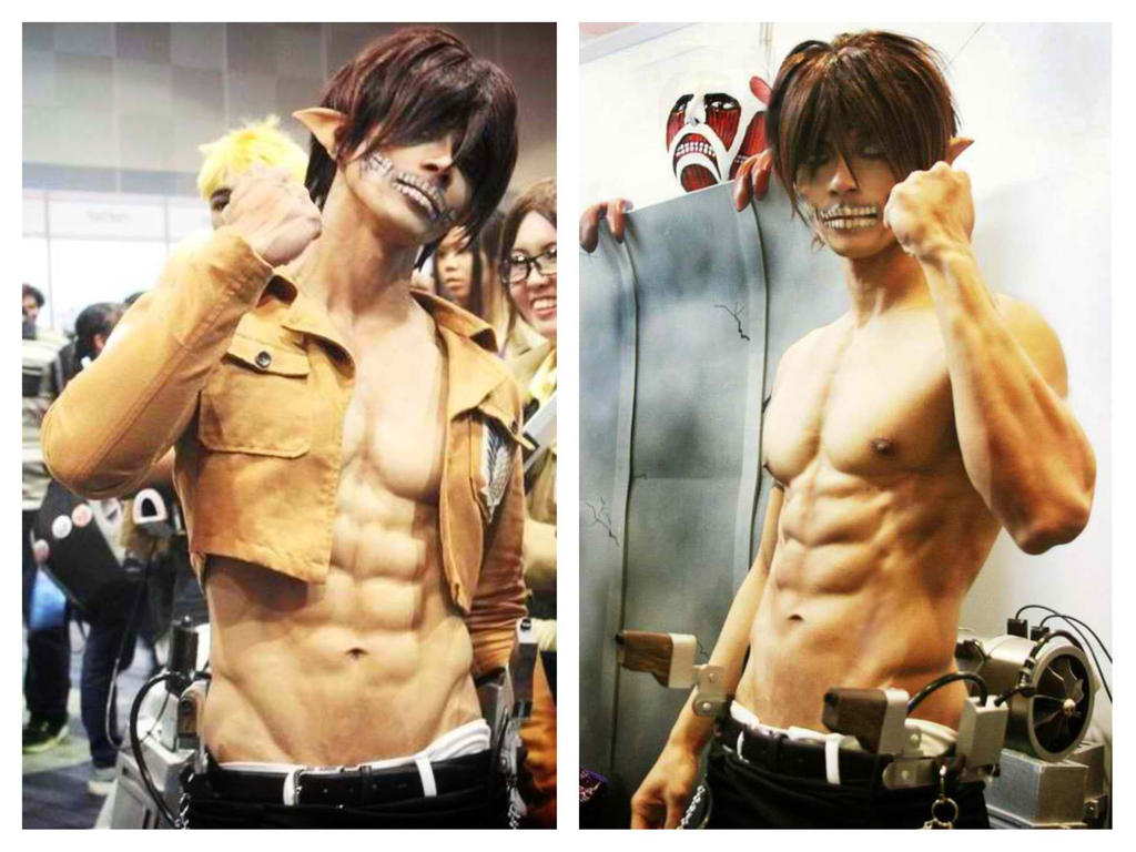 Titan Eren cosplay by surberus666