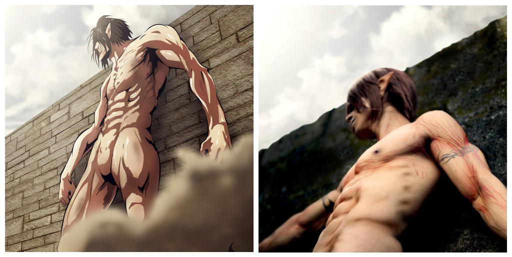 Titan Eren by surberus666