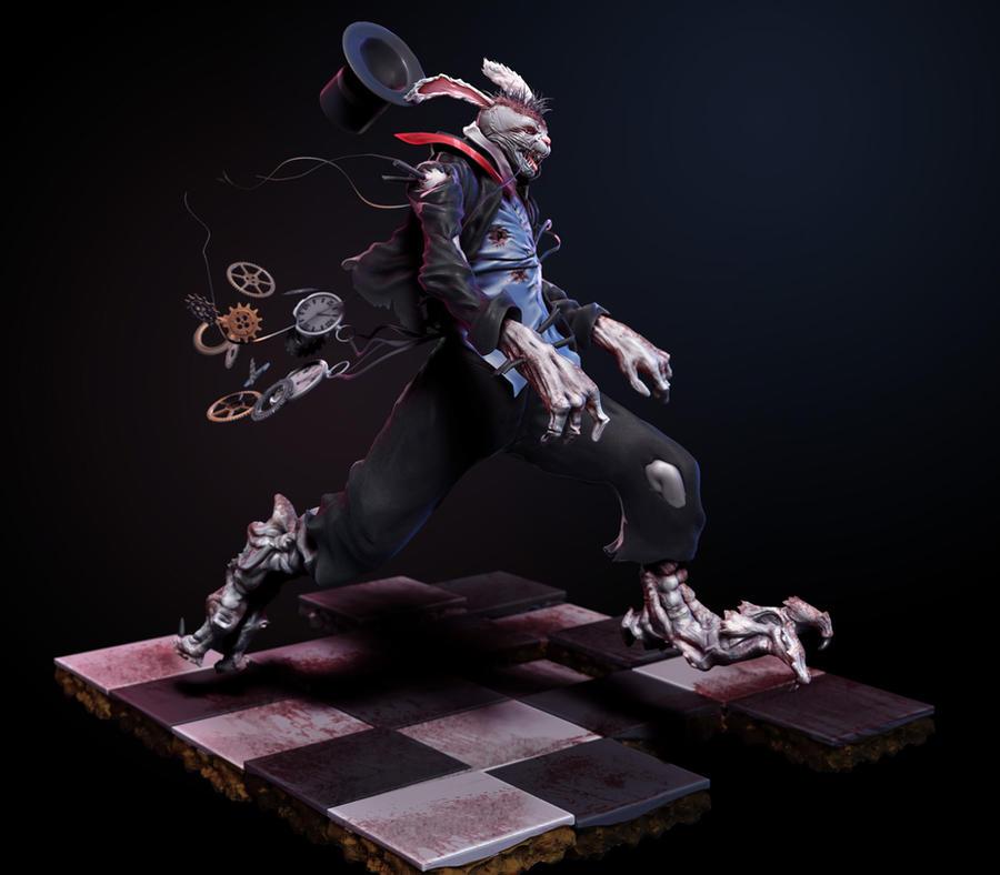Horror Rabbit by Graxious