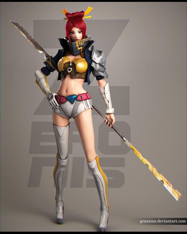 3D Yoori Final by Graxious