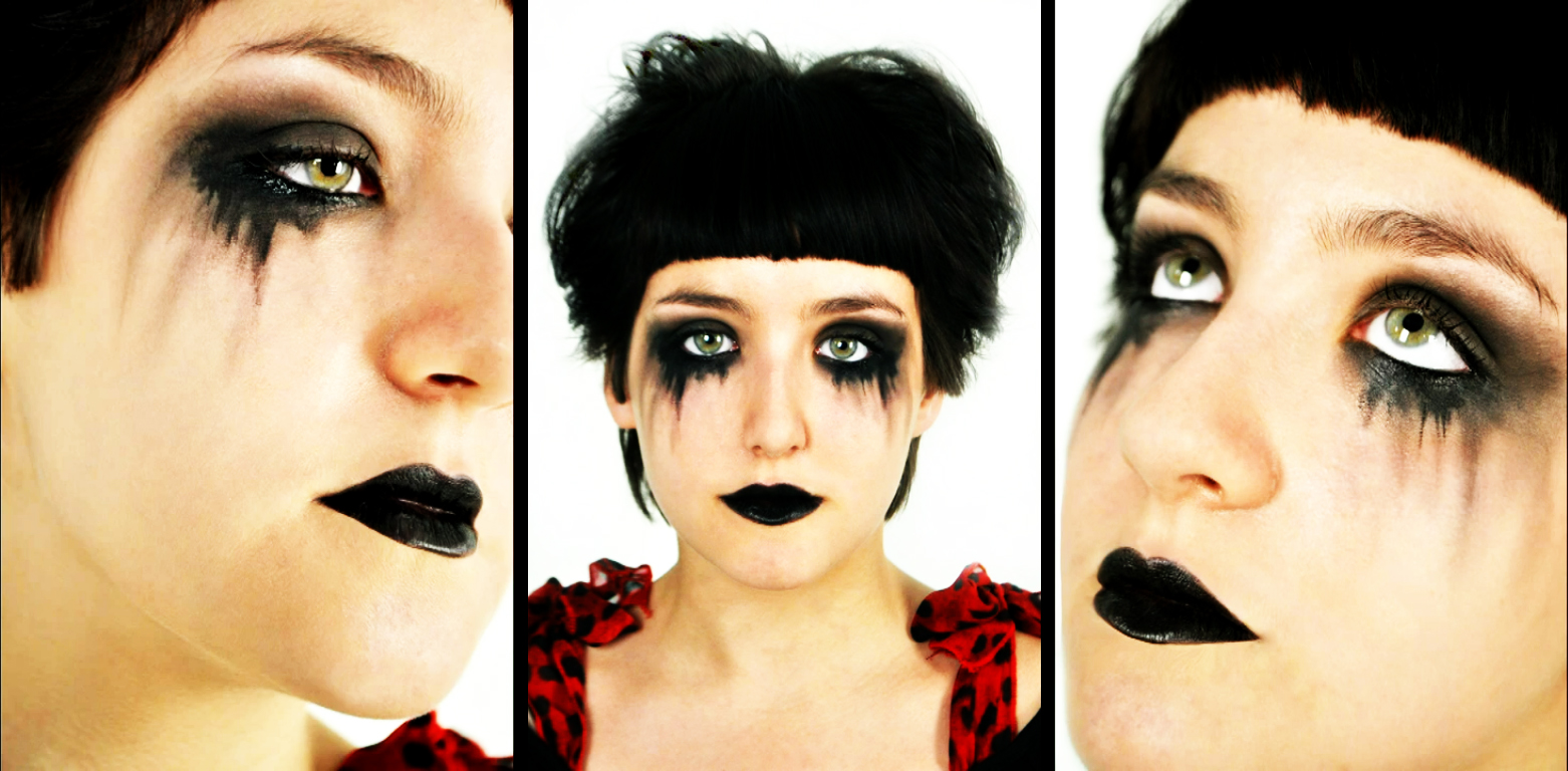Eye Makeup gothic eye makeup : Eye make-up : Little Red Riding Hood : Pinterest