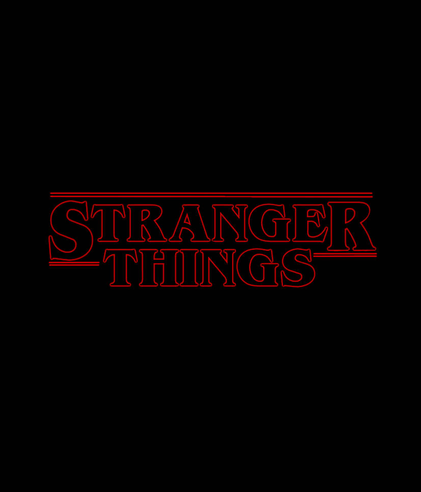 Stranger Things logo by TheDrunkCorgi on DeviantArt