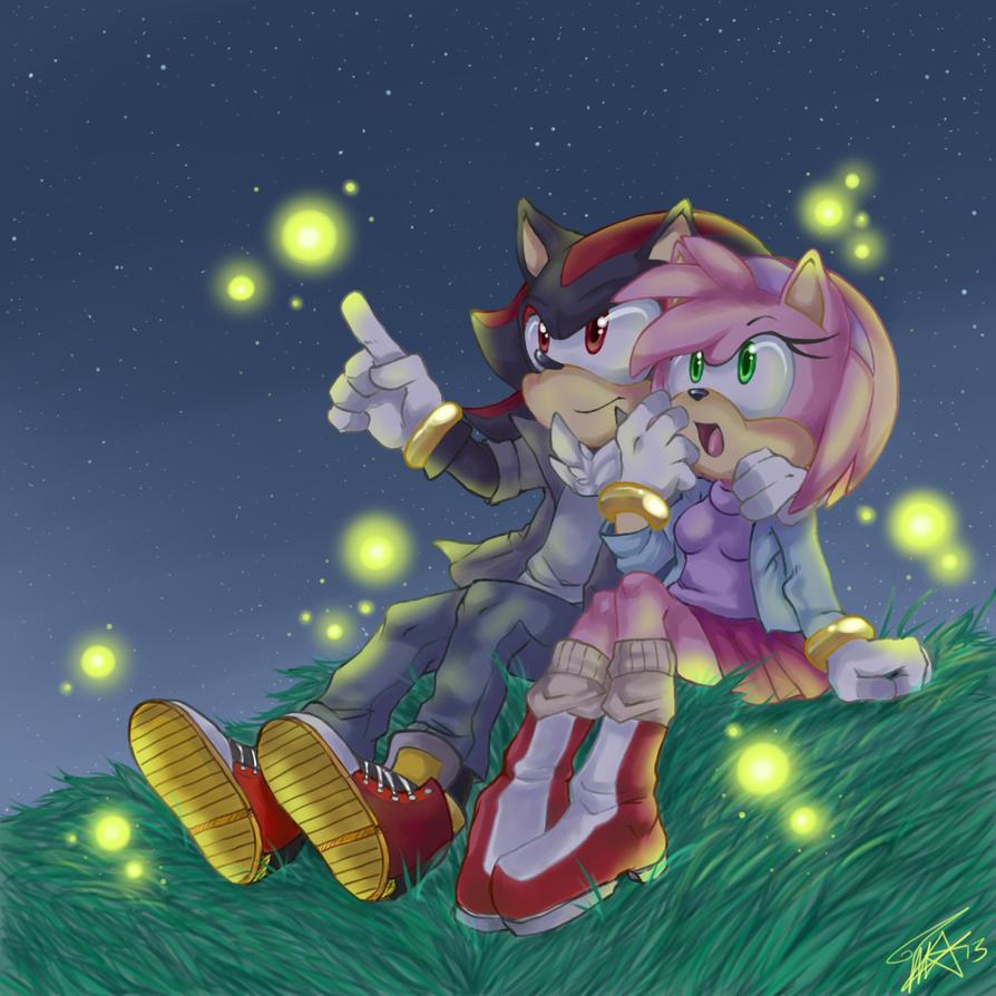 Shadamy: Fireflies by Pink-Angel-Kitty
